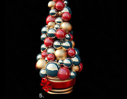 3d decorative christmas toys