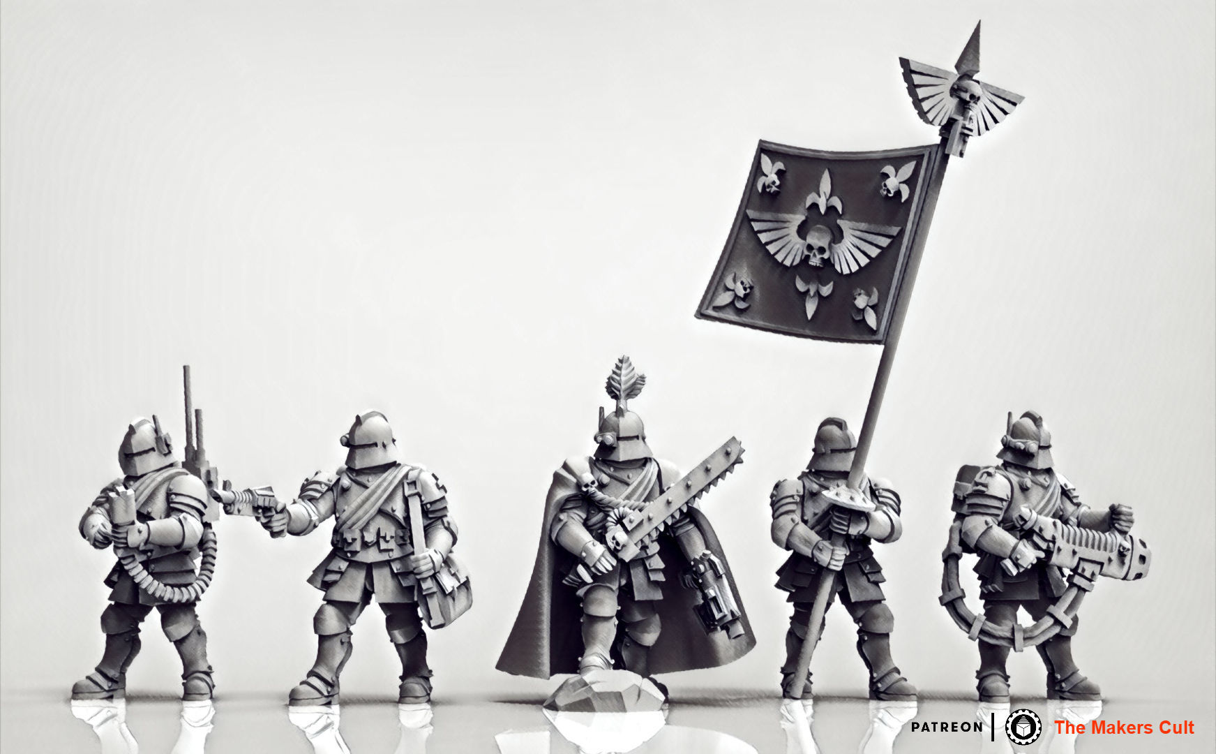 Feudal Guard Command Squad