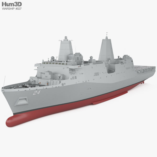 San Antonio-class amphibious transport dock