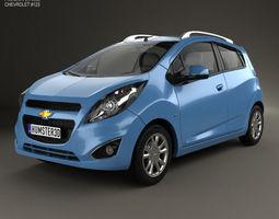 Chevrolet Spark LS 2013 3D