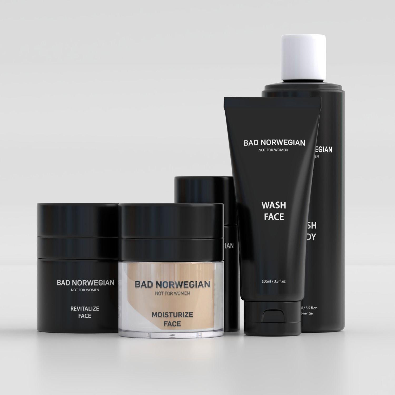 Bad Norwegian Skin Care Set