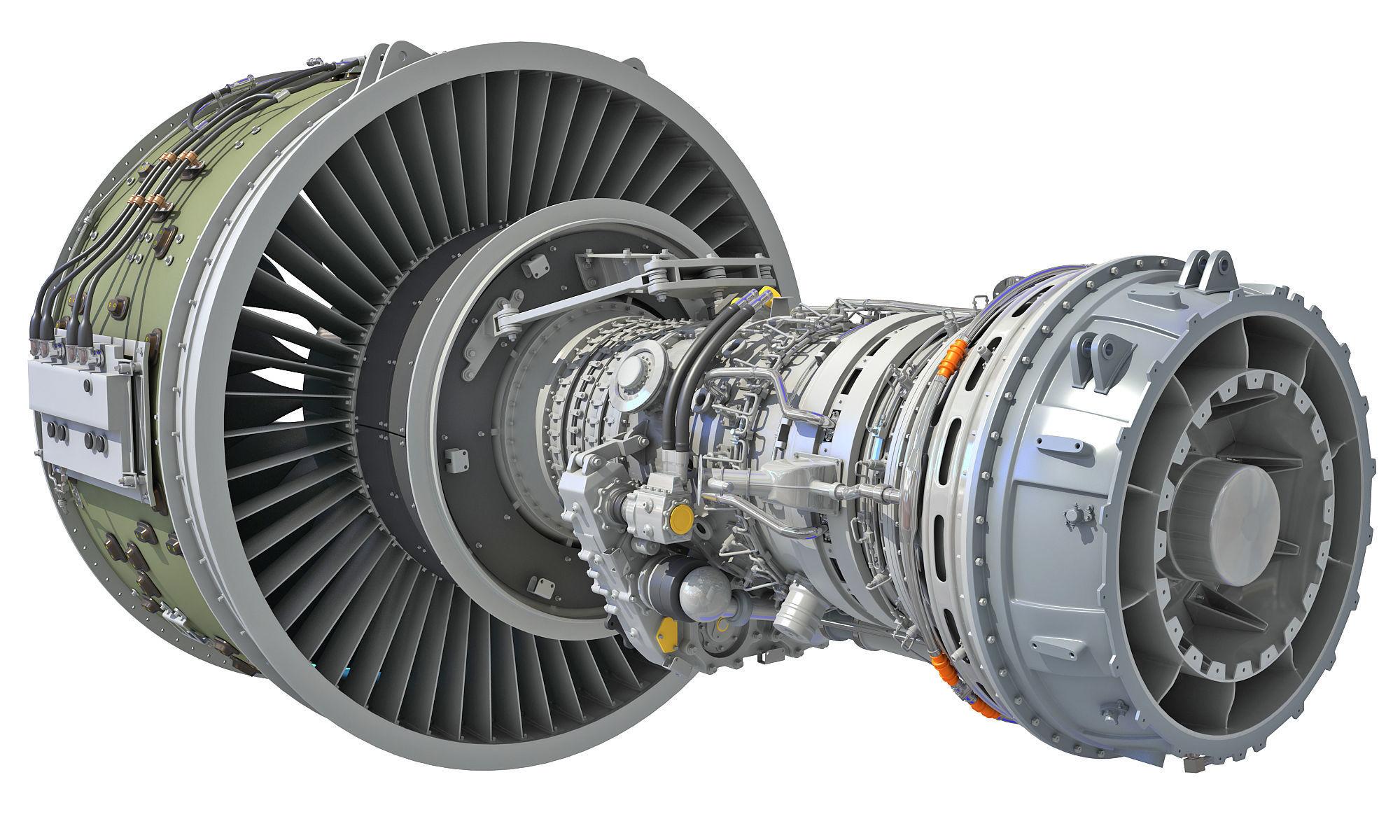 PW GTF Geared Turbofan Engine