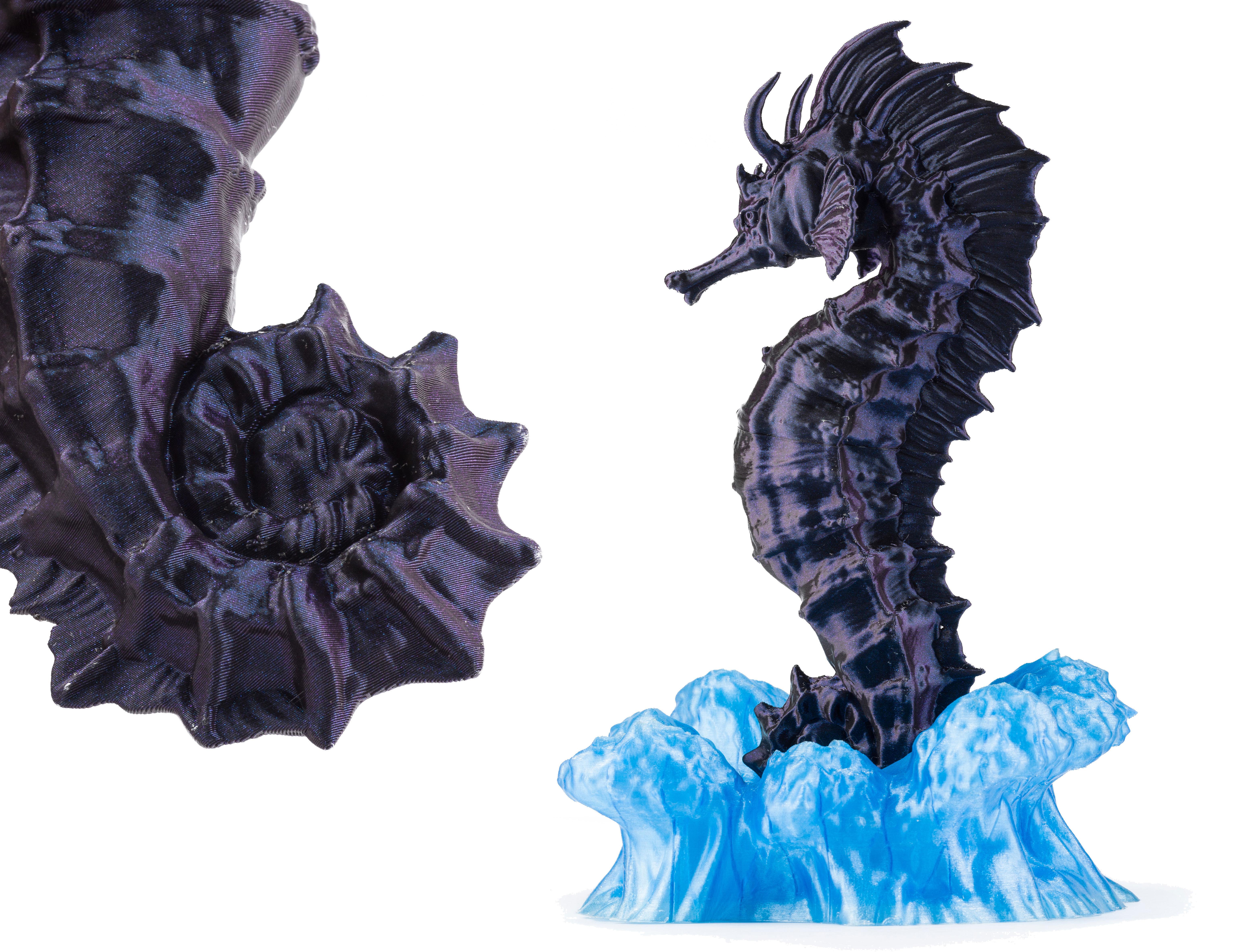 Seahorse - 3D PRINT MODEL