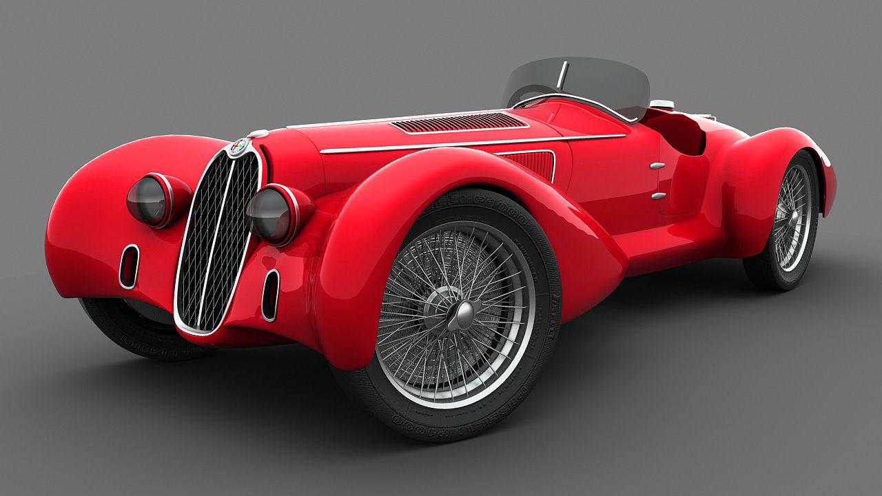 Alfa Romeo 8C-2900 Mille Miglia 1938