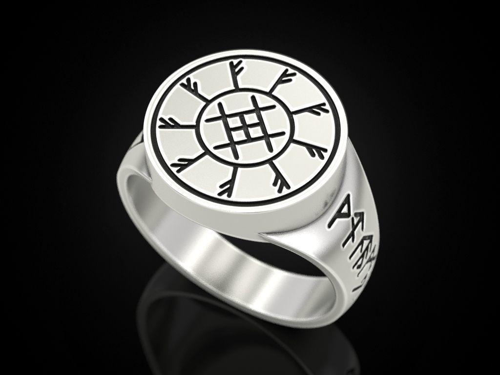 Ring with runes