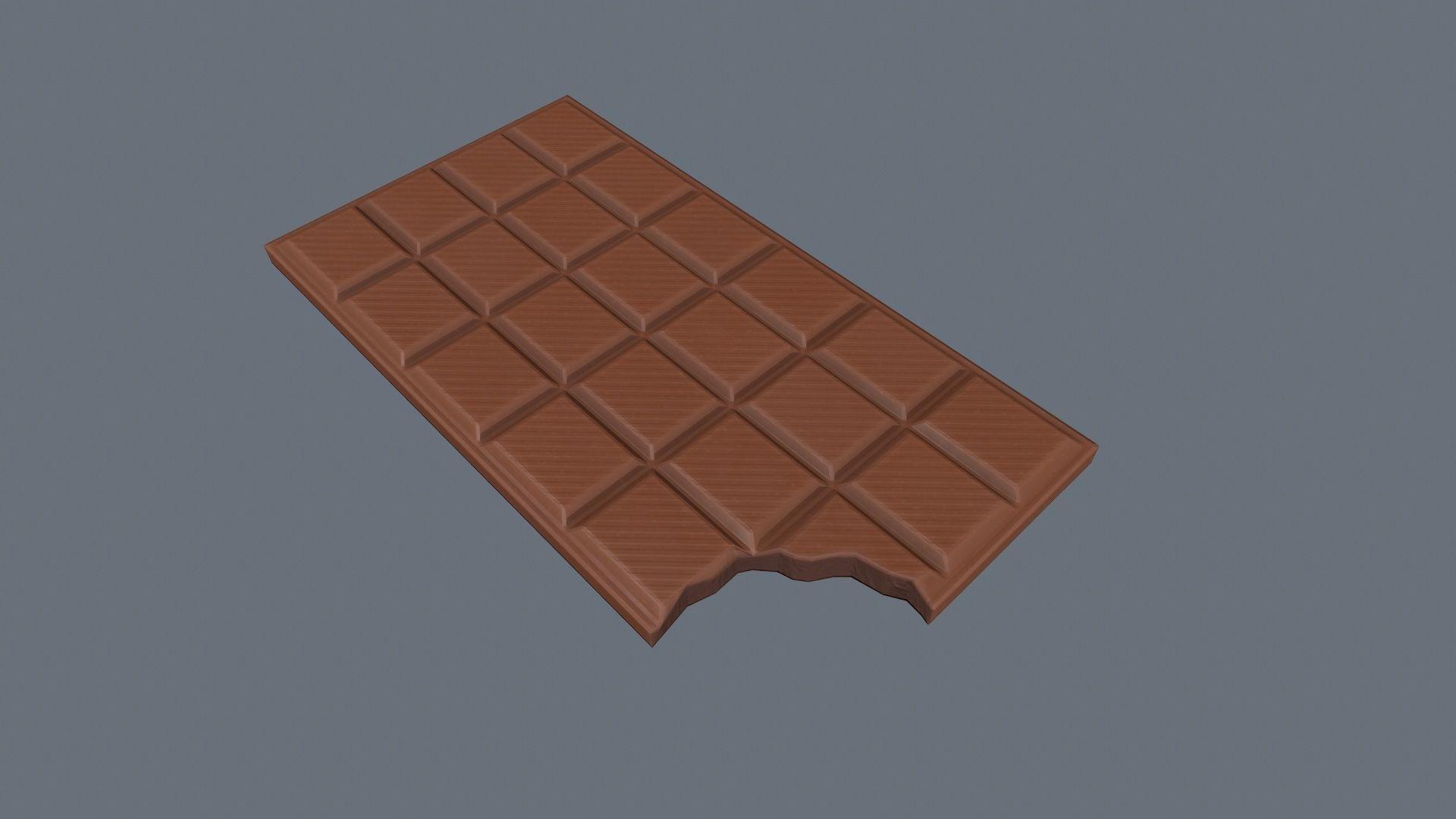Bitten Chocolate Bar