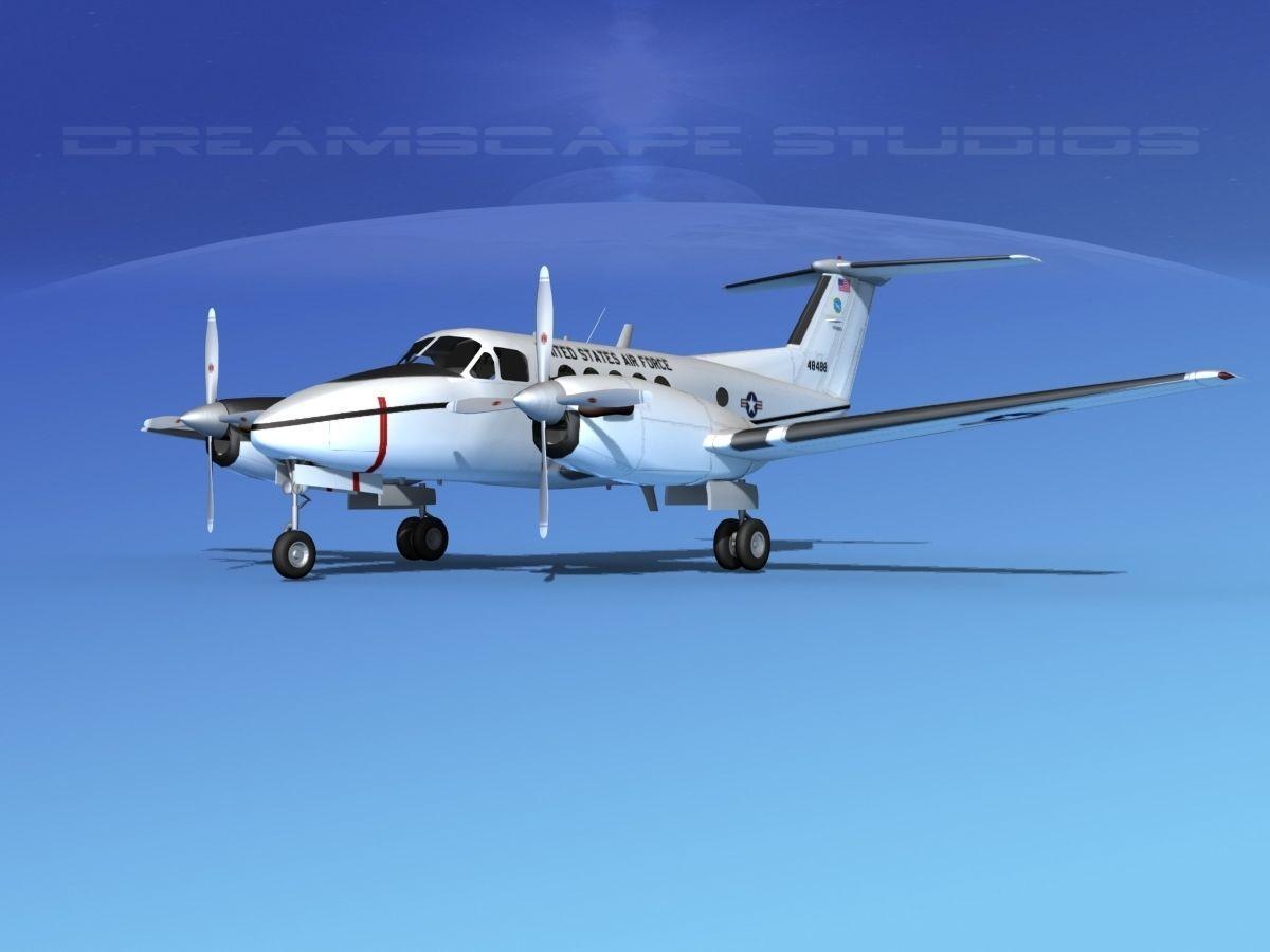 Beechcraft UC-12Q Huron V04 USAF