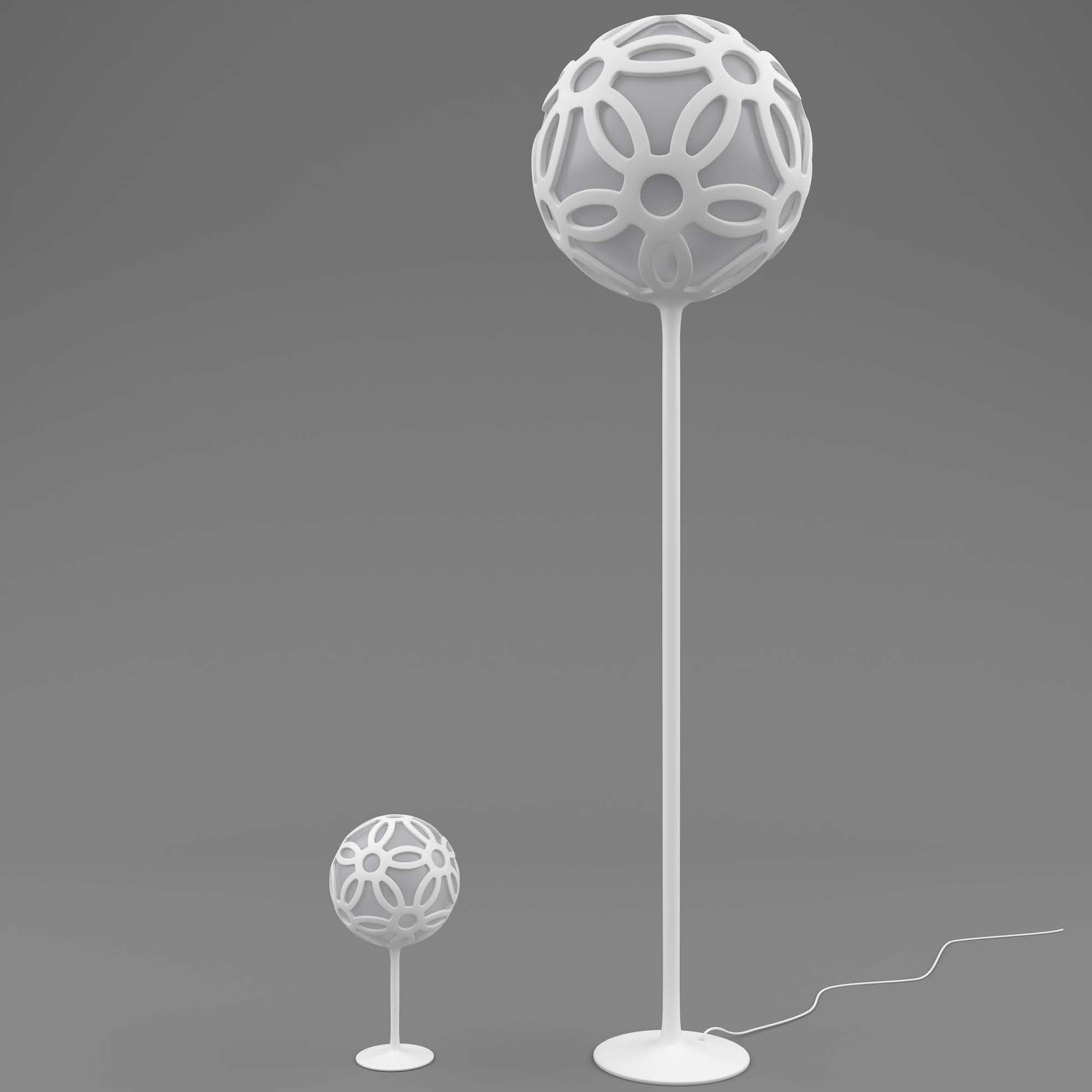 Lamp Set round