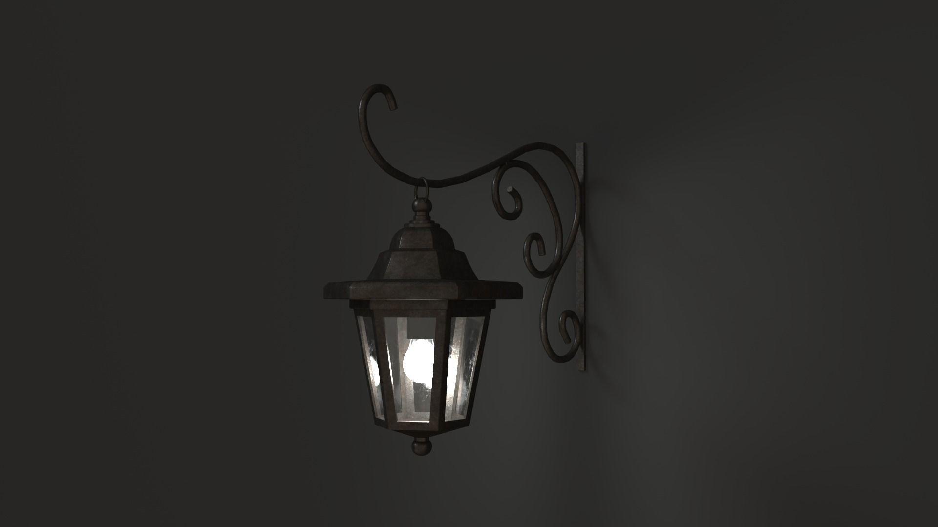 Antique Outdoor Lamp
