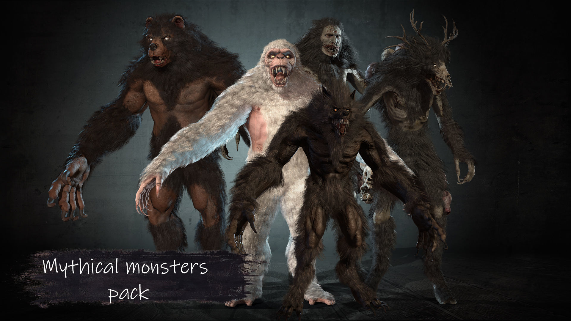 Mithical monsters collection pack1