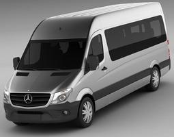 mercedes sprinter 2013 minibus 3d