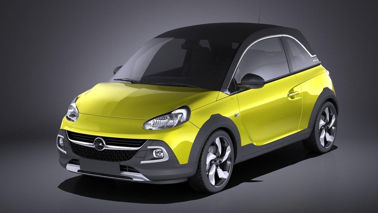 Opel Adam Rocks 2017 VRAY