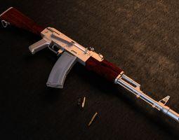 Kalashnikov AK-74 3D model