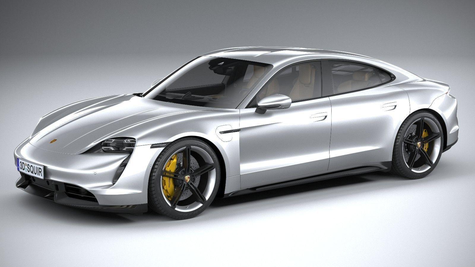 Porsche Taycan 2020 3D model | CGTrader