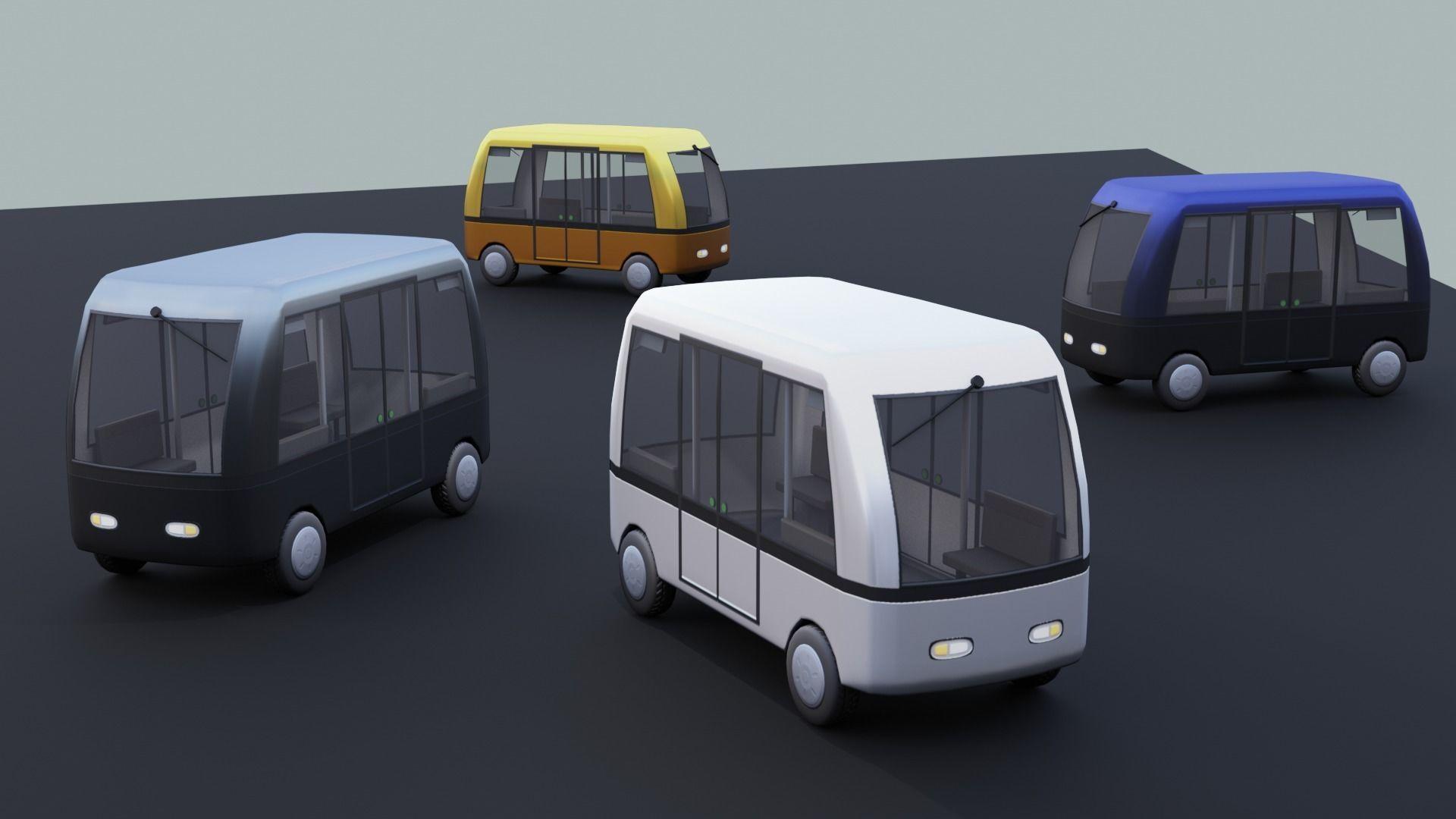 Autonomous Electric People Mover