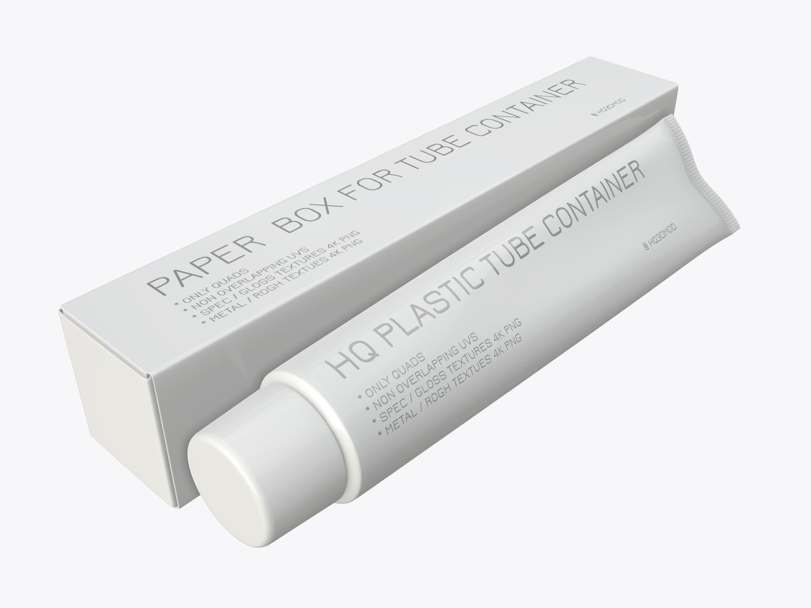 Toothpaste with box 03