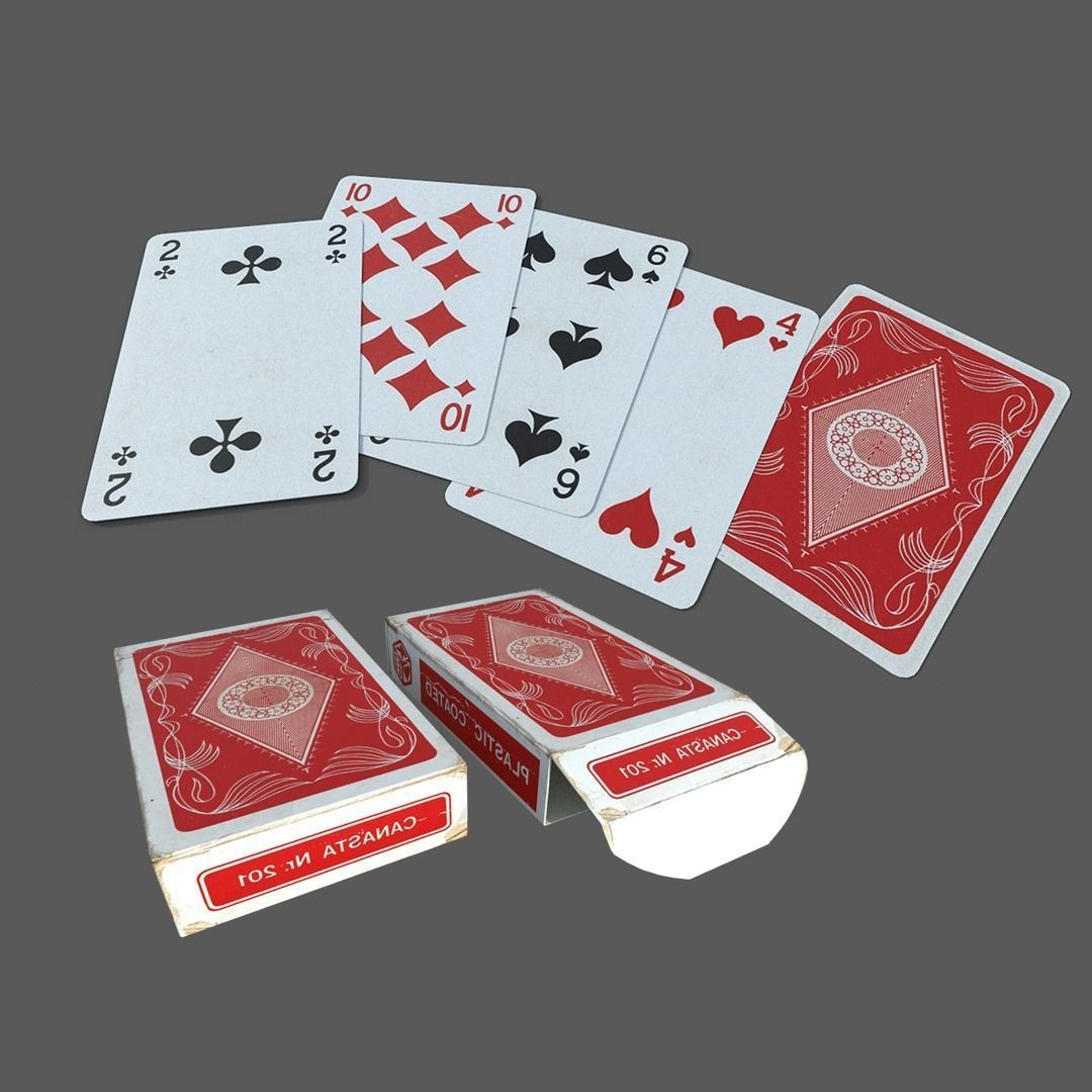 3D Classic Playing Cards