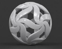 3D printable model Floral Star Ball