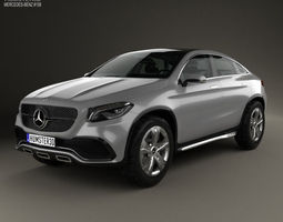 Mercedes-Benz Coupe SUV 2014 3D