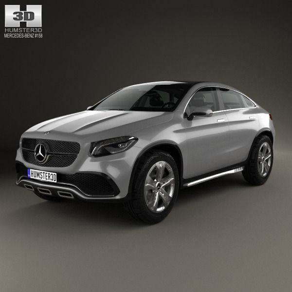 Mercedes Suv Models >> Mercedes Benz Coupe Suv 2014 3d Model