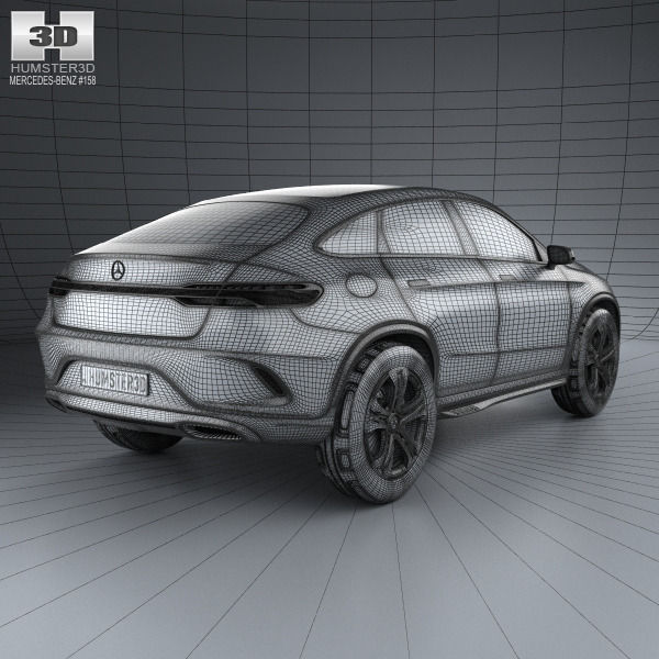 Mercedes Benz Coupe Suv 2014 3d Cgtrader