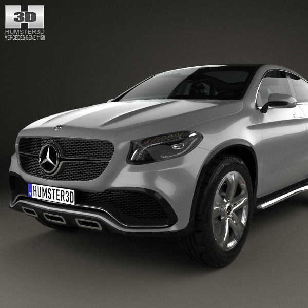 Mercedes Benz Coupe Suv Cgtrader