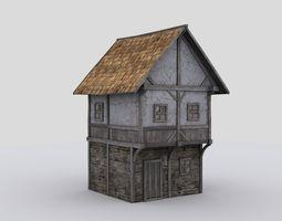 house medival 3D model