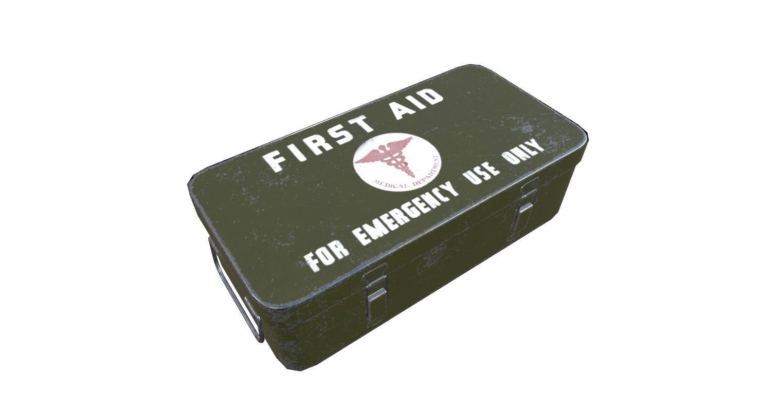 First Aid Medical Kit Game Ready
