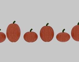 Pumpkin Pack 3D asset