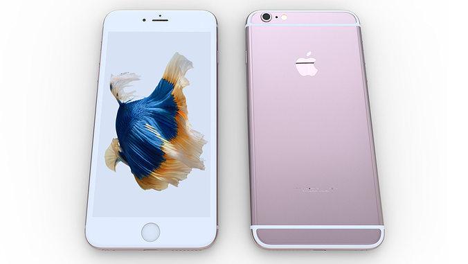 iphone 6s plus - original dimensions 3d model 3d model max obj mtl stl ige igs iges stp 1