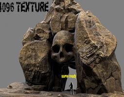 plant 3D model Skull Cave