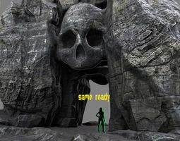 skull cave  004 3d