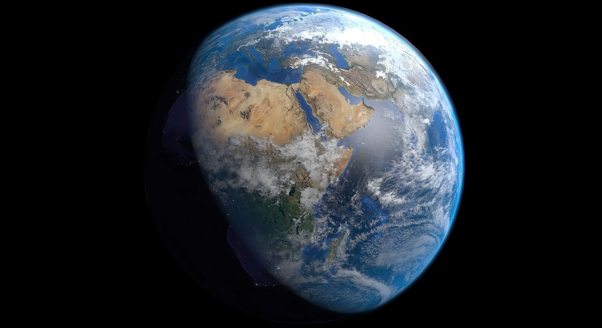 Realistic earth free 3d model 3d printable blend for 3d freeware