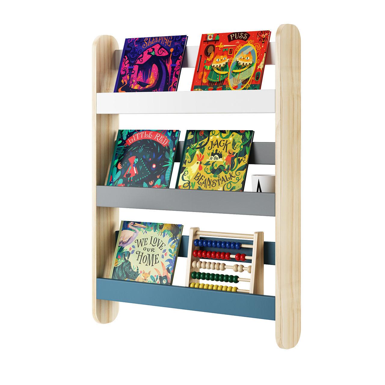Essentials Spark Book Shelving by Made