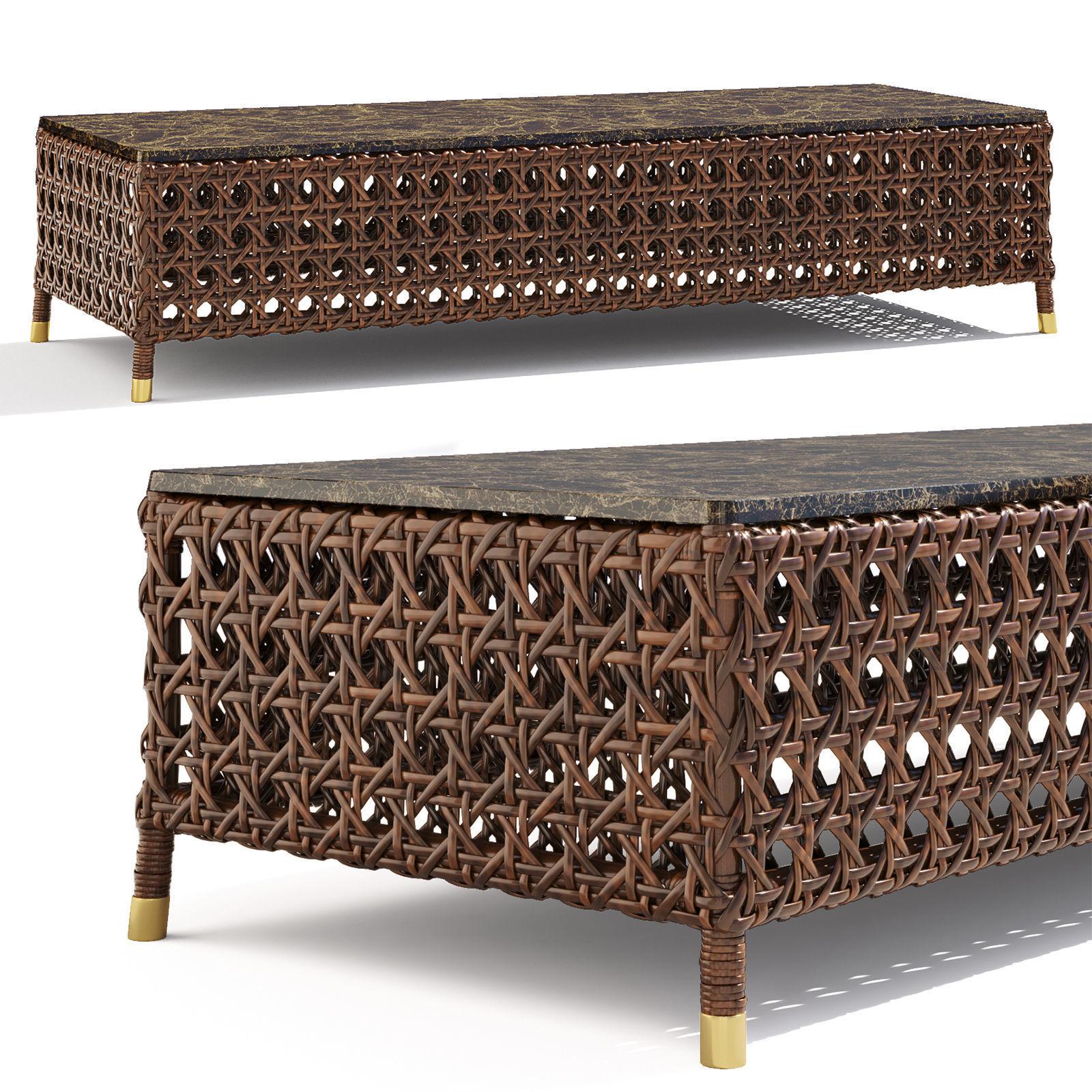 SAMUELE MAZZA Rigel rectangular table
