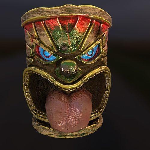 Tiki Totem 3