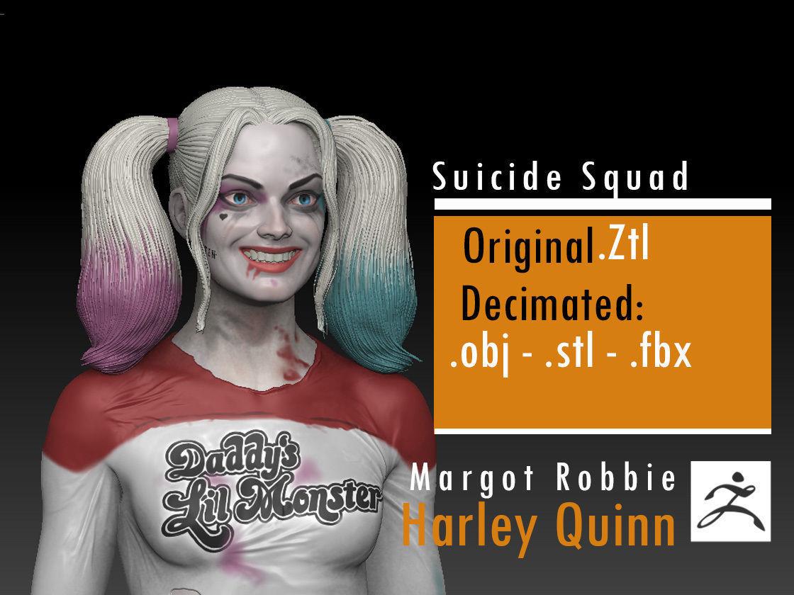 Margot Robbie - Harley Quinn - Suicide Squad