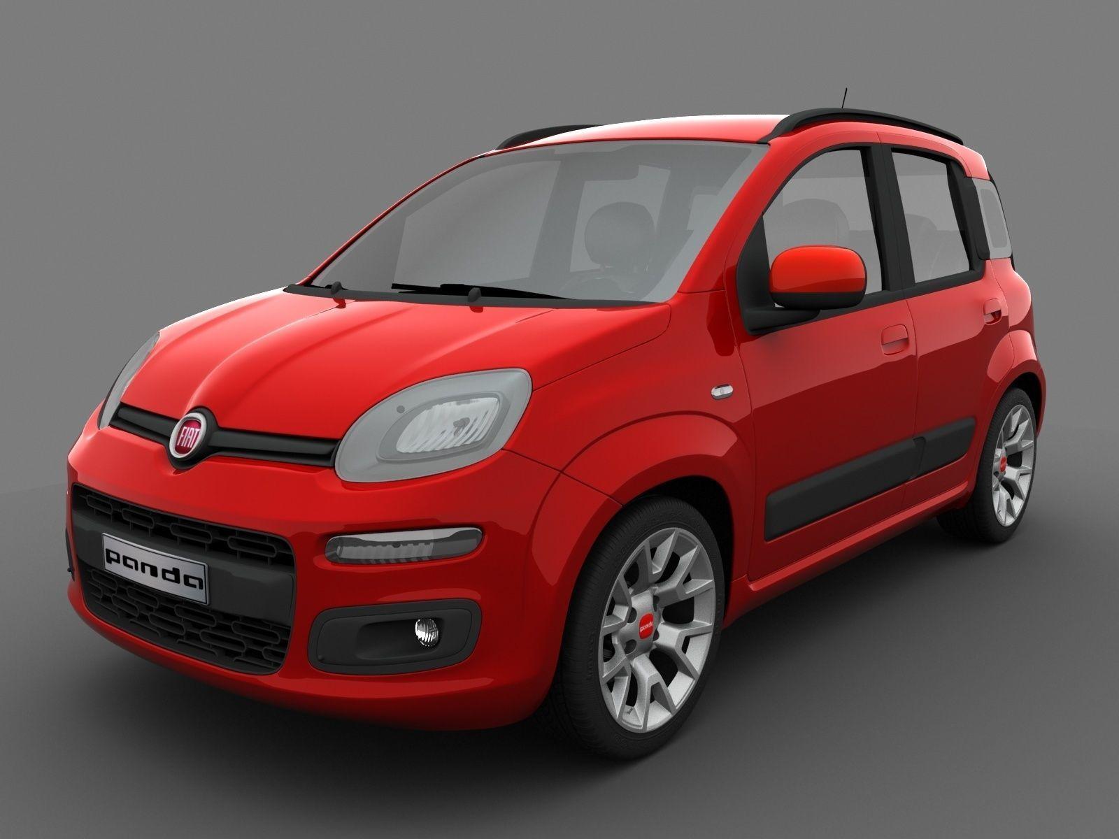 Fiat Panda 2017 >> Fiat Panda 2017 3d Model
