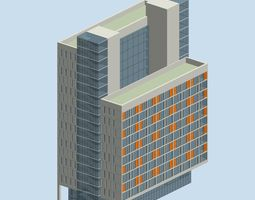 City planning office building fashion design  239 3D Model