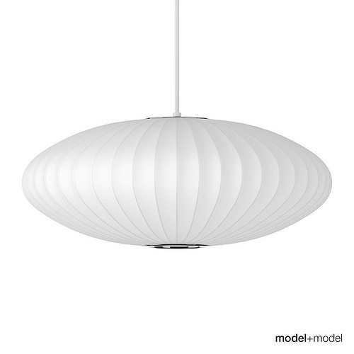 George nelson saucer suspension lamp 3d model cgtrader aloadofball Choice Image