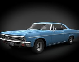 3D asset Chevrolet Impala SS 66