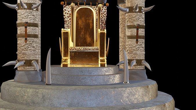 Fantasy throne