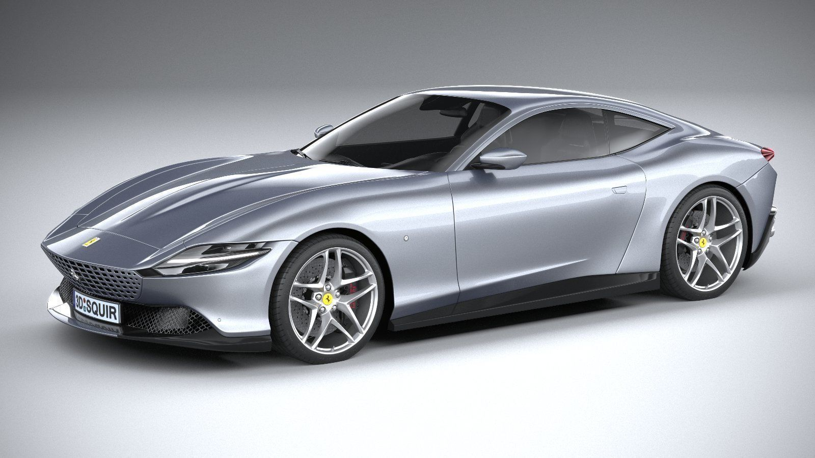 Ferrari Roma 2020 3D model | CGTrader