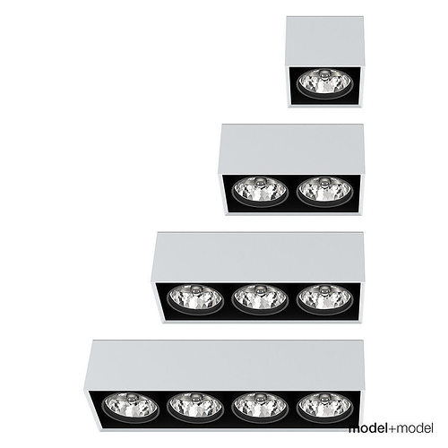 artemide architectural nothing ceiling spotlights 3d model rigged max obj mtl fbx mat 1