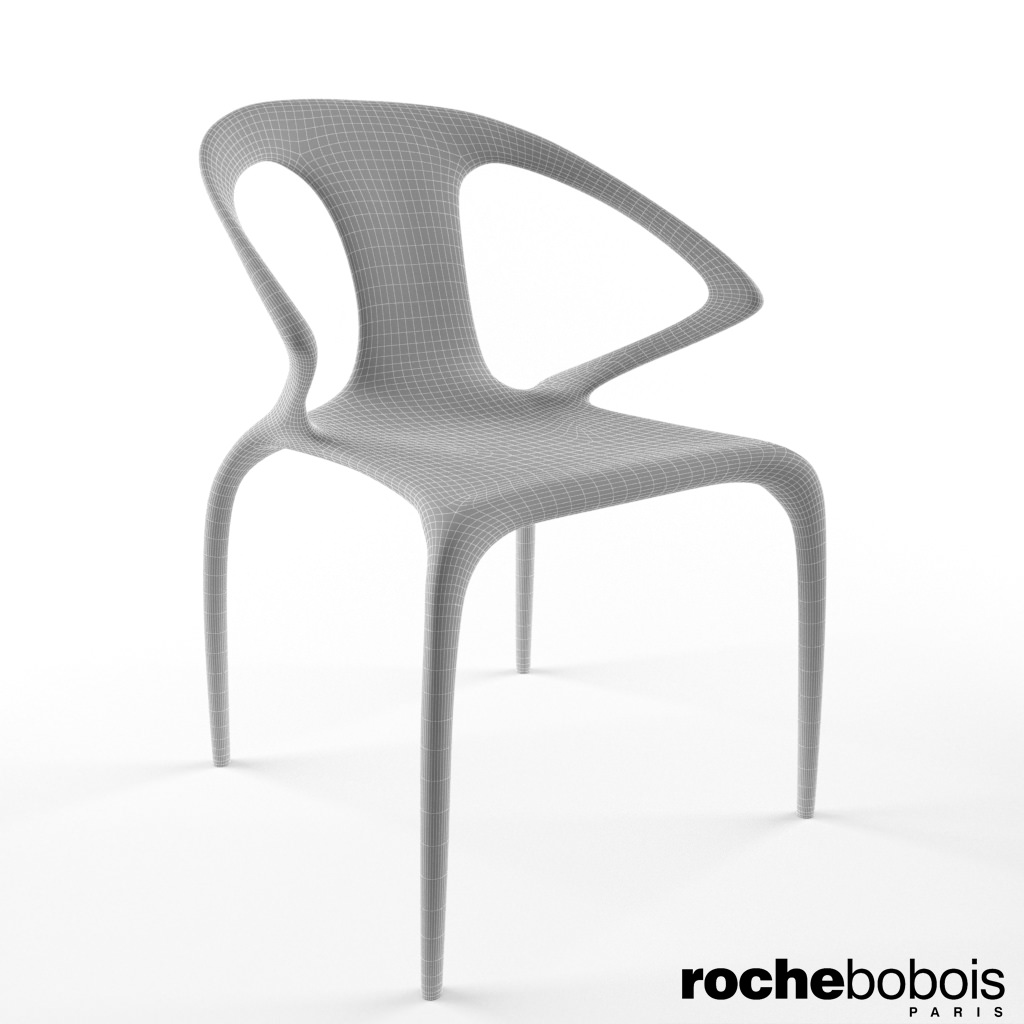 ... Roche Bobois Ava Chair 3d Model Max 4 ...