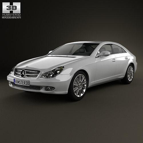 Mercedes-Benz CLS-Class C219 2006 3D