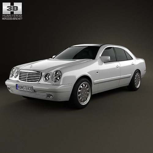 3d mercedes benz e class sedan w210 1996 cgtrader for Mercedes benz e class models