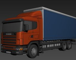 3d asset scania r series realtime