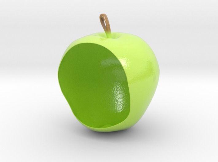 Apple birdfeeder