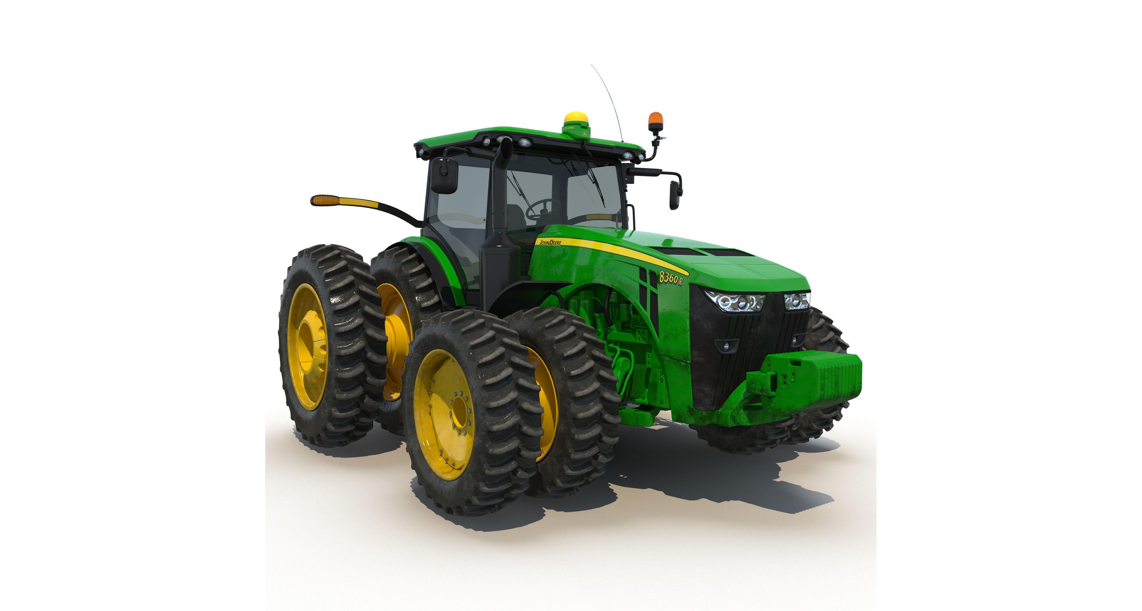 Tractor John Deere 8RT